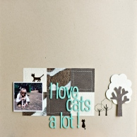 Page I love cats a lot !