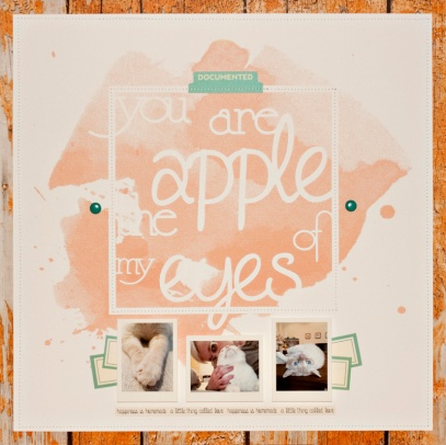 You are the apple of my eyes